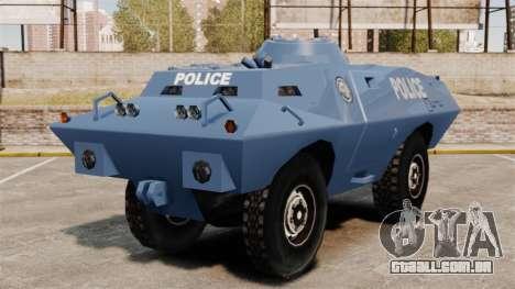 S.W.A.T. Police Van para GTA 4