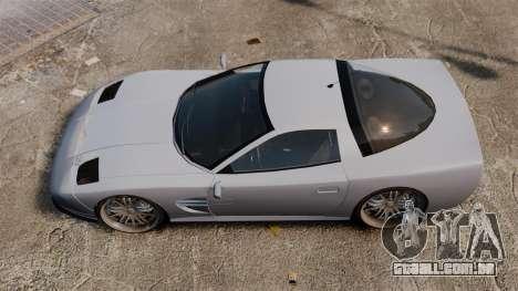 Coquete nos drives de 22 polegadas para GTA 4 vista direita