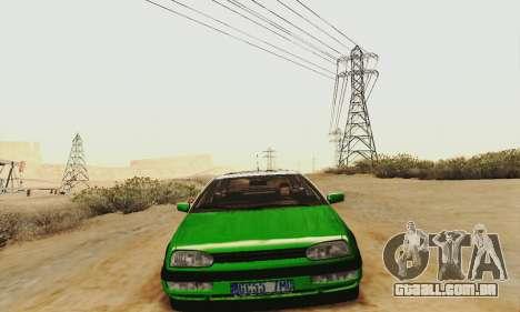 Volkswagen Golf Mk3 GTi 1997 para GTA San Andreas esquerda vista