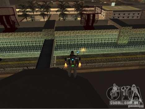 O novo aeroporto, Los Santos para GTA San Andreas terceira tela