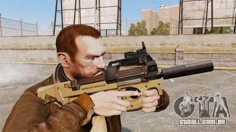 V4 de pistola-metralhadora belga FN P90 para GTA 4