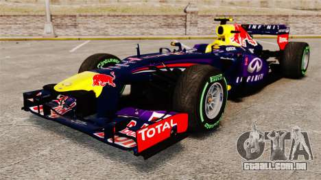 Carro, Red Bull RB9 v3 para GTA 4