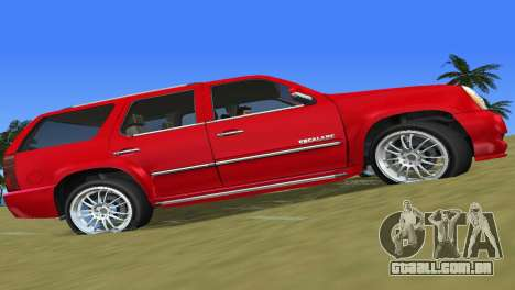 Cadillac Escalade para GTA Vice City deixou vista