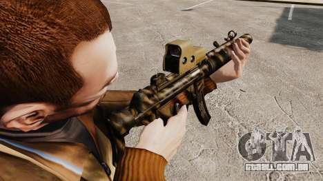 MP5SD metralhadora v3 para GTA 4 segundo screenshot