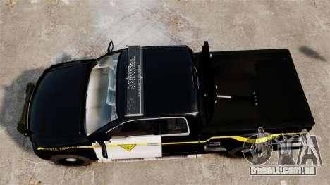 Ford F-150 v3.3 State Trooper [ELS & EPM] v1 para GTA 4 vista direita