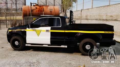 Ford F-150 v3.3 State Trooper [ELS & EPM] v2 para GTA 4 esquerda vista