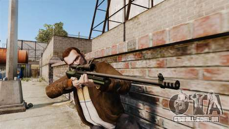 Rifle sniper Sako TRG-42 para GTA 4 terceira tela