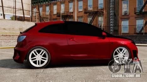 SEAT Ibiza para GTA 4 esquerda vista