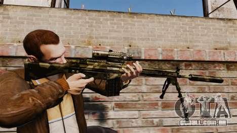 HK G3SG1 sniper rifle v2 para GTA 4