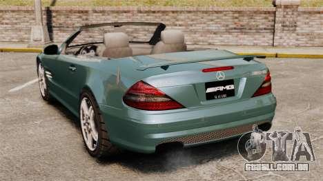Mercedes-Benz SL65 2007 AMG v1.2 para GTA 4 traseira esquerda vista