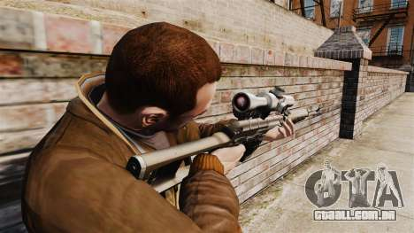 Dragunov sniper rifle v2 para GTA 4 segundo screenshot