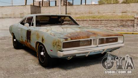 Dodge Charger RT 1969 enferrujado v 1.1 para GTA 4