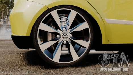 Volkswagen Gol G6 para GTA 4 vista de volta