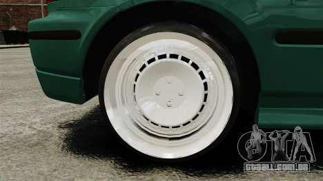 Honda Civic Al Sana para GTA 4 vista de volta