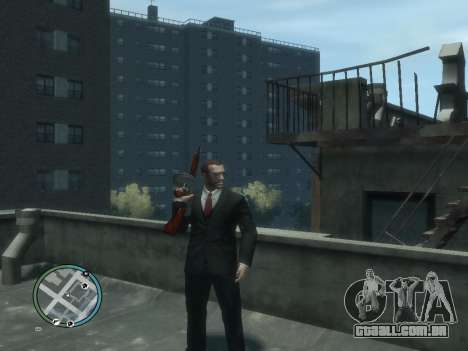Thompson para GTA 4 terceira tela