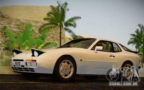 Porsche 944 Turbo Coupe 1985 para GTA San Andreas