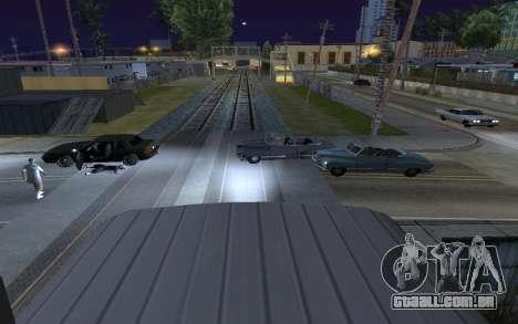 Train light para GTA San Andreas segunda tela