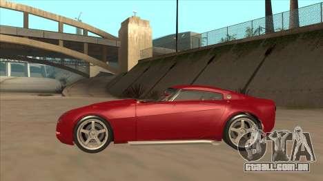 Melling Hellcat Custom para GTA San Andreas traseira esquerda vista