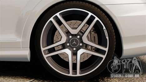 Mercedes-Benz S65 W221 AMG Stock v1.2 para GTA 4 vista direita