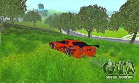 Elegy Sport para GTA San Andreas esquerda vista