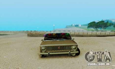 VAZ 2101 conversível para GTA San Andreas esquerda vista