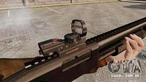 Tactical shotgun v2 para GTA 4 quinto tela
