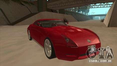 Melling Hellcat Custom para GTA San Andreas esquerda vista