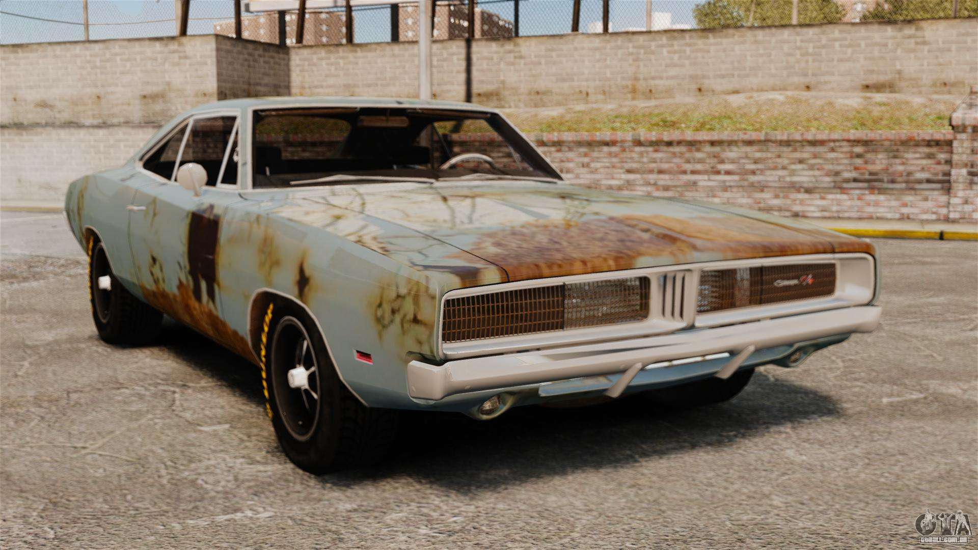 Dodge Charger Rt 1969 Enferrujado V 1 1 Para Gta 4