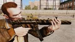 MP5SD metralhadora v3 para GTA 4