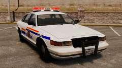 A real polícia montada do Canadá