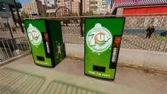 7 máquinas de venda automática