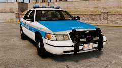 Ford Crown Victoria Police Massachusetts ELS para GTA 4