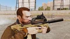 V4 de pistola-metralhadora belga FN P90