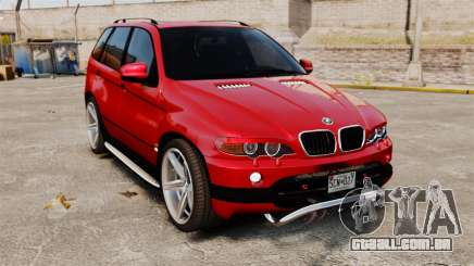 BMW X5 4.8iS v3 para GTA 4