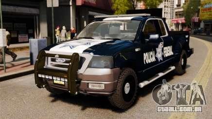Ford F-150 De La Policia Federal [ELS & EPM] v2 para GTA 4