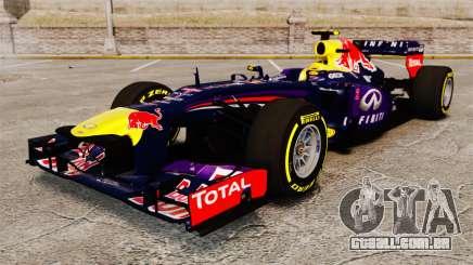 Carro, Red Bull RB9 v5 para GTA 4