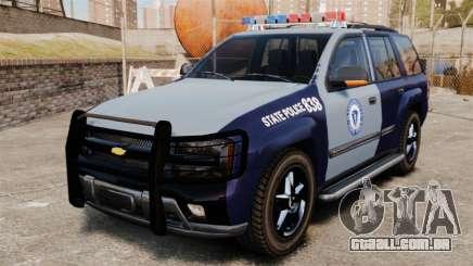 Chevrolet Trailblazer 2002 Massachusetts Police para GTA 4