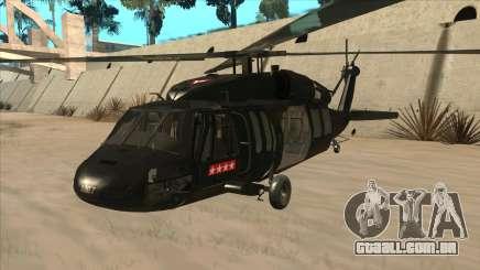 Sikorsky UH-60L Black Hawk Mexican Air Force para GTA San Andreas
