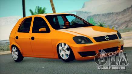 Chevrolet Celta hatch de 3 portas para GTA San Andreas