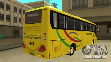 Kinglong XMQ6126Y - Bachelor Tours 435 para GTA San Andreas vista direita