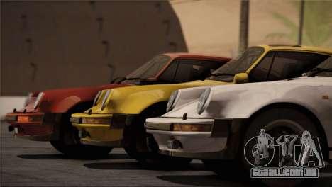 Porsche 911 Turbo 3.3 Coupe 1982 para o motor de GTA San Andreas