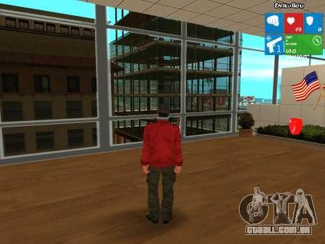 Darius from NFS: Carbon para GTA San Andreas segunda tela