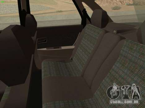 Lada Priora para GTA San Andreas vista superior