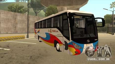 Kinglong XMQ6126Y - GL Trans 559 para GTA San Andreas esquerda vista