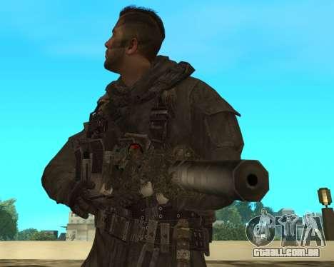 Sniper MacMillan para GTA San Andreas terceira tela