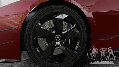 Lamborghini Reventon Body Kit Final para GTA 4 vista de volta
