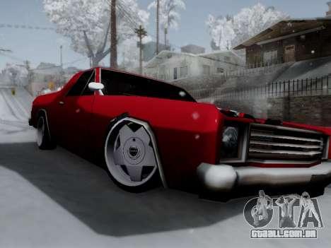 Picador V8 Picadas para GTA San Andreas esquerda vista