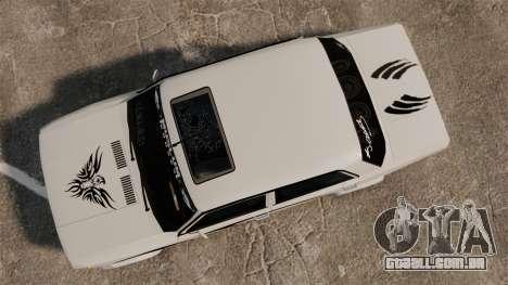 Fiat 124 Tuning para GTA 4 vista direita