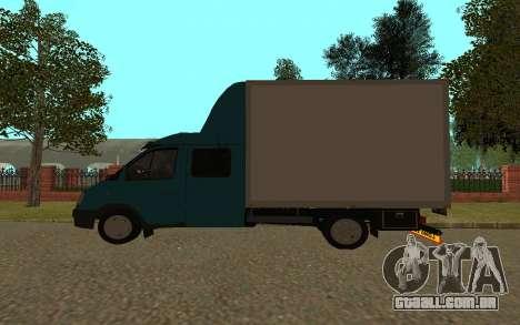Gazela 33023 para GTA San Andreas traseira esquerda vista