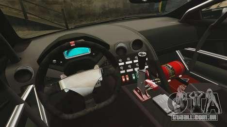 Lamborghini Reventon Body Kit Final para GTA 4 vista interior